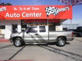 1999 Light Pewter Metallic Chevrolet Silverado 1500 LT Extended Cab 4x4 #29599912