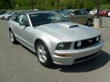 2007 Satin Silver Metallic Ford Mustang GT Premium Convertible #29600394