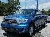 2007 Blue Streak Metallic Toyota Tundra Limited Double Cab #29599735