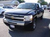 2009 Black Chevrolet Silverado 1500 LT Crew Cab 4x4 #29599749