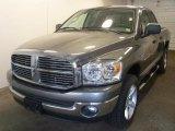 2007 Mineral Gray Metallic Dodge Ram 1500 SLT Quad Cab 4x4 #29599620