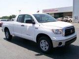 2010 Super White Toyota Tundra Double Cab #29669084