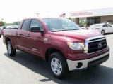 2010 Salsa Red Pearl Toyota Tundra Double Cab #29669085