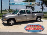 2002 Light Pewter Metallic Chevrolet Silverado 1500 Extended Cab #29669396