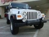 2006 Stone White Jeep Wrangler Sport 4x4 #29669239