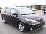 2011 Black Toyota Sienna SE #29669092