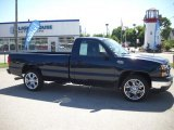2006 Blue Granite Metallic Chevrolet Silverado 1500 Work Truck Regular Cab #29669410