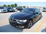 2007 Jet Black BMW 3 Series 335i Convertible #29669143