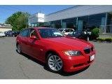2007 Crimson Red BMW 3 Series 328xi Sedan #29668779