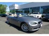 2009 Space Grey Metallic BMW 3 Series 328i Convertible #29668785