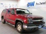 2004 Sport Red Metallic Chevrolet Silverado 1500 Z71 Extended Cab 4x4 #29669208