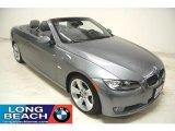 2007 Space Gray Metallic BMW 3 Series 335i Convertible #29668991