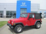 2006 Flame Red Jeep Wrangler Sport 4x4 #29669334