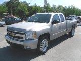 2008 Silver Birch Metallic Chevrolet Silverado 1500 LT Extended Cab #29669343