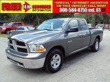 2010 Mineral Gray Metallic Dodge Ram 1500 SLT Quad Cab #29669348