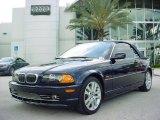 2002 Orient Blue Metallic BMW 3 Series 330i Convertible #29668689
