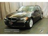 2008 Jet Black BMW 3 Series 328xi Sedan #29668695