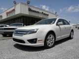 2010 White Suede Ford Fusion SE #29668854