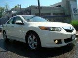 2009 Premium White Pearl Acura TSX Sedan #29668880