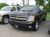 2010 Black Granite Metallic Chevrolet Silverado 1500 LTZ Crew Cab 4x4 #29724006