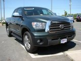 2008 Timberland Green Mica Toyota Tundra Limited Double Cab #29724082