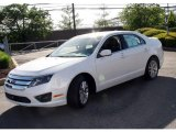2010 White Platinum Tri-coat Metallic Ford Fusion SEL #29723655