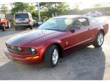 2007 Redfire Metallic Ford Mustang V6 Deluxe Coupe #29723662
