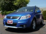 2007 Techno Blue Metallic Suzuki SX4 Sport AWD #29723815