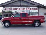 2001 Fire Red GMC Sierra 1500 SLT Extended Cab 4x4 #29723837
