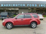 2009 Sangria Red Metallic Ford Escape XLT 4WD #29723887