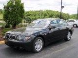 2003 Black Sapphire Metallic BMW 7 Series 745i Sedan #29723939