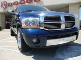 2006 Patriot Blue Pearl Dodge Ram 1500 Laramie Quad Cab #29723971