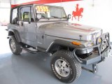 1993 Jeep Wrangler Bright Silver Quartz Metallic