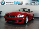 2008 Imola Red BMW M Roadster #29762176