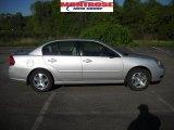 2005 Galaxy Silver Metallic Chevrolet Malibu LT V6 Sedan #29762683