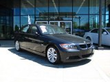 2007 Black Sapphire Metallic BMW 3 Series 328i Sedan #29762340