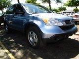 2007 Glacier Blue Metallic Honda CR-V LX #29762070