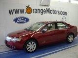 2008 Vivid Red Metallic Lincoln MKZ Sedan #29762374