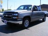 2006 Graystone Metallic Chevrolet Silverado 1500 LS Extended Cab #29762078