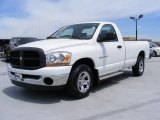 2006 Bright White Dodge Ram 1500 ST Regular Cab #29762708