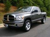 2007 Mineral Gray Metallic Dodge Ram 1500 SLT Quad Cab 4x4 #29762714