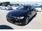 2007 Jet Black BMW 3 Series 335i Convertible #29762608