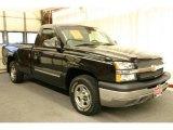 2003 Black Chevrolet Silverado 1500 Regular Cab #29762389