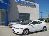 2007 Taffeta White Honda Civic EX Coupe #29762090