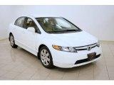 2007 Taffeta White Honda Civic LX Sedan #29762727