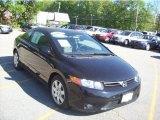 2007 Nighthawk Black Pearl Honda Civic LX Coupe #29762633