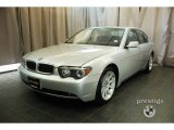2003 Titanium Silver Metallic BMW 7 Series 745i Sedan #29762100