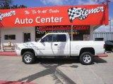 2001 Bright White Dodge Ram 1500 Sport Club Cab 4x4 #29762426