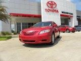 2008 Barcelona Red Metallic Toyota Camry LE #29762248