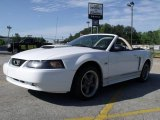 2001 Oxford White Ford Mustang GT Convertible #29762437